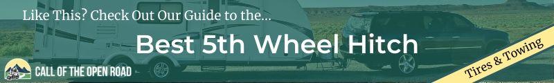 Best 5th Wheel Hitch_Banner