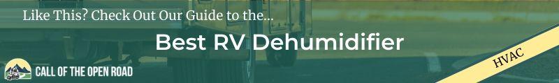 Best RV Dehumidifier Banner