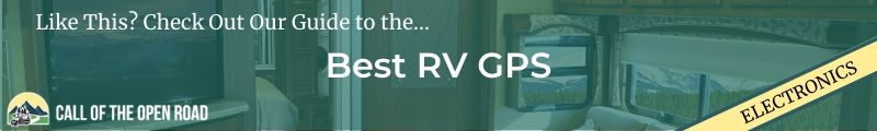 Best RV GPS Banner