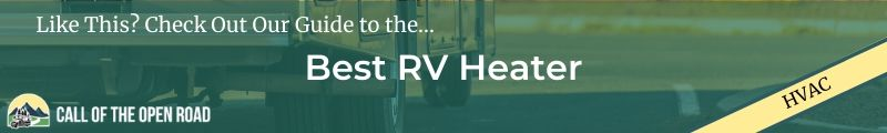 Best RV Heater Banner