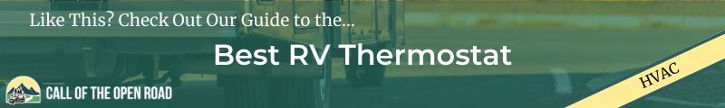Best RV Thermostat Banner