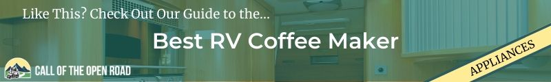 Best RV coffee maker Banner