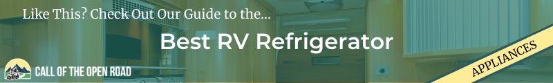 Best RV refrigerator Banner